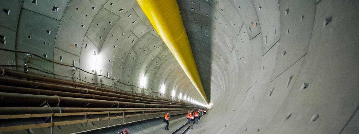 Budowa Tunelu pod Martwą Wisłą