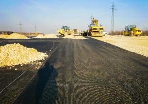 Budowa autostrady A1 na terenie szkód górniczych − INORA Sp. z o.o.